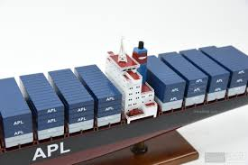 100 Shipping Container Model APL Ship