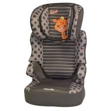 siege auto nania nania siège auto befix sp gr 2 3 girafe roseoubleu fr