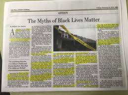 Anti Black Lives Matter Article Prominently Posted In SF Police Station