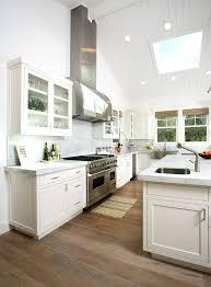 kitchen lighting ideas sloped ceiling vaulted kitchens track