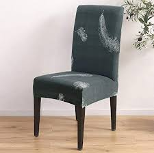 abnehmbare stuhlbezug sitz stuhl esszimmer überzug