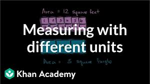 100 7m To Feet Measuring Rectangles With Different Unit Squares Video