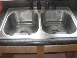 inspiration 40 double kitchen sink clogged decorating design of