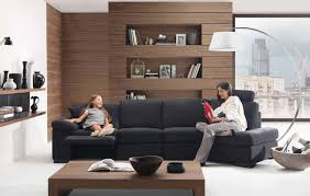 Taupe And Black Living Room Ideas by Interior Contemporary Deluxe Family Living Room Design Featuring