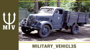 Nazi German WW2 Trucks - YouTube