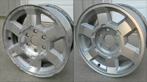 100 Oem Chevy Truck Wheels Pitted Aluminum Wheel RestorationPainting How To 17 GMC Rims