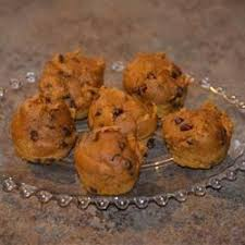 Libbys Pumpkin Muffins Cake Mix by Mini Chocolate Chip Pumpkin Muffins Recipe Allrecipes Com