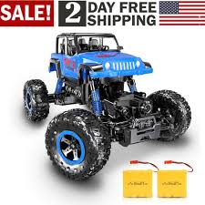 100 4 Wheel Drive Rc Trucks 118 2G WD RC Off Road Crawlers Remote Control Car With