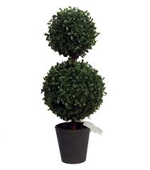 Bloom Room Soft Touch Boxwood Double Ball TopiaryGreen JOANN