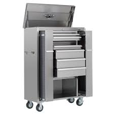 Waterloo 7 Drawer Tool Cabinet by Viper Tool Storage V4108ubss 41 Inch 8 Drawer 18g Stainless Steel