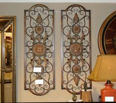 Tuscan Wall Decor Ideas by Wrought Iron Decorative Wall Panels Tuscan Metal Wall Decor 42
