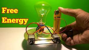free energy light bulb using gas litter