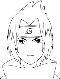 Coloriage De Sasuke à Imprimer Sur Coloriage DE Com