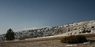 sommet du mont ventoux vu depuis le chalet reynard photolive