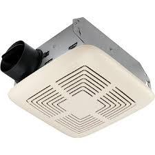 Broan Duct Free Bathroom Fan by Shop Broan 4 Sone 70 Cfm White Bathroom Fan At Lowes Com