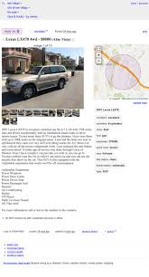 100 Craigslist San Diego Cars And Trucks By Owner At 8000 Could This 2001 Lexus LX470 Be Your Gold Standard