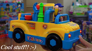 Cool Toy For Toddlers And Kids: Bump & Go Tool Truck Toy W/ Lights ...