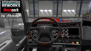 100 Glass Packs For Trucks Interiors American Truck Simulator Mods