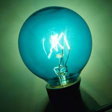 transparent blue 7 watt g40 globe light bulbs e12 candelabra base
