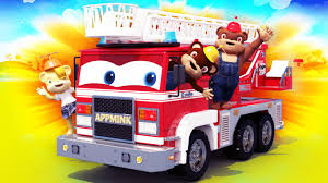 100 Fire Trucks For Toddlers AppMink Build A Truck Cartoons For Kids YouTube
