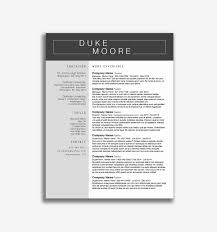 Job Hopping Resume Clever Hopper Template Awesome Attractive Templates For