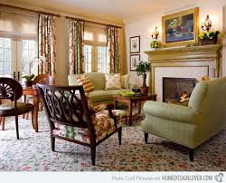 Attractive Country Living Living Rooms 15 Warm And Cozy Country