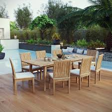 Modway Marina 9 Piece Outdoor Patio Teak Outdoor Dining Set And Teak Fniture Timber Sets Chairs Round Porch Fa Wood Home Decor Essential Patio Ding Set Trdideen As Havenside Popham 11piece Wicker Outdoor Chair Sevenposition Eightperson Simple Fpageanalytics Design Table Designs Amazoncom Modway Eei3314natset Marina 9 Piece In Natural 7 Brampton Teak7pc Brown Classics