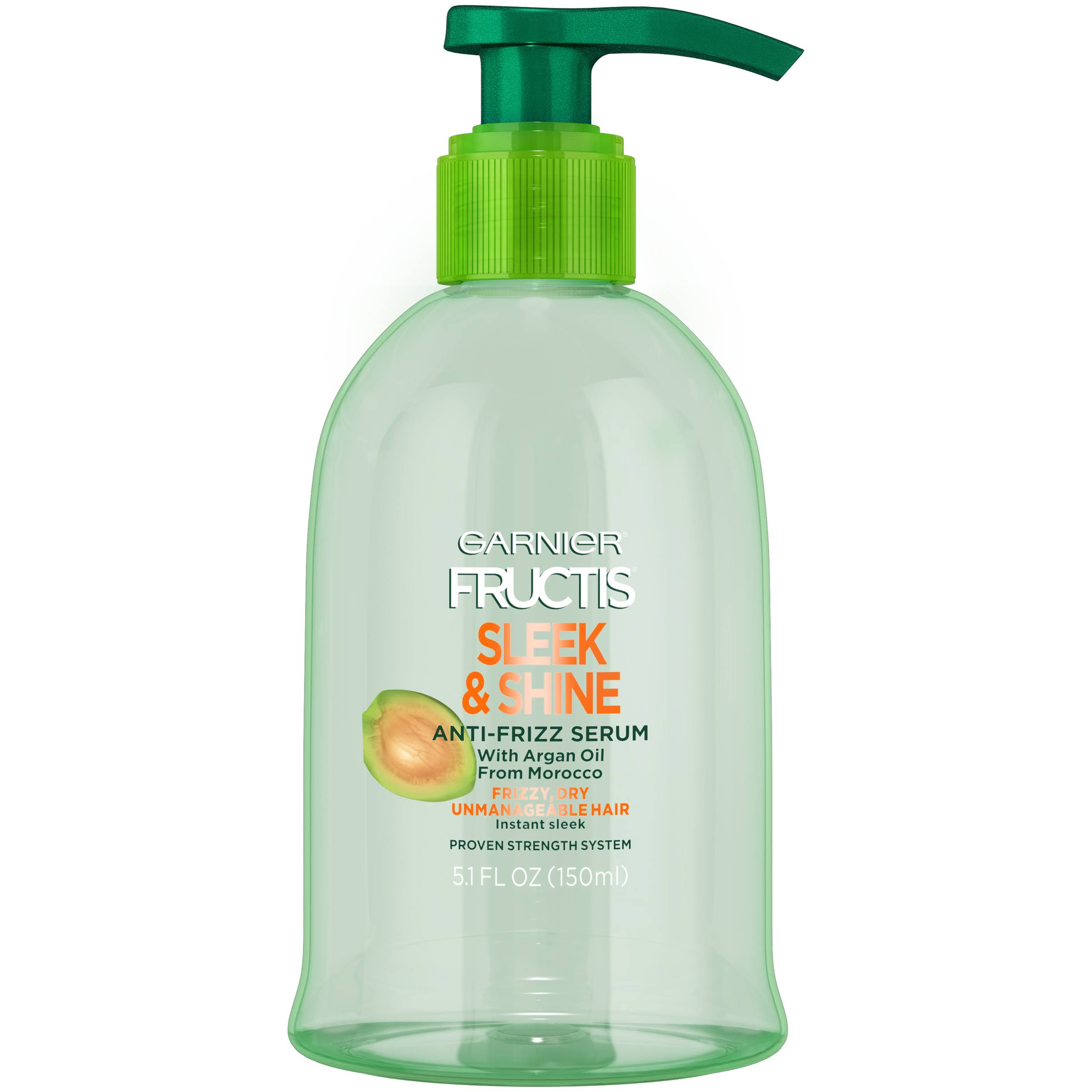Garnier Fructis Sleek & Shine Anti-Frizz Serum - 5.1oz