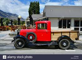 An 1930's Classic Ford Model Pickup Truck In Glenorchy, South Island ...