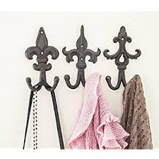 Amazon Decorative Cast Iron Wall Hook Rack