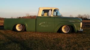 100 1957 Ford Truck F100 We Built Last Winter 8 Inch Channel Over S10 Frame