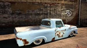 100 Ford Unibody Truck For Sale 1962 Ford F100 Unibody Hot Rod Pickup Truck YouTube