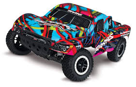 Amazon.com: Traxxas Slash 1/10 Scale 2WD Short Course Racing Truck ...