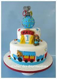 deco gateau en pate a sucre gâteau cirque décoration en pâte à sucre pour paco blogs de