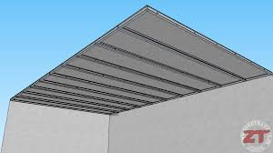 technique brico le faux plafond autoportant en détails