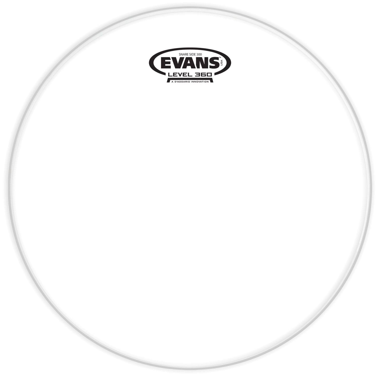 Evans Clear 300 Snare Side Drum Head - 13""