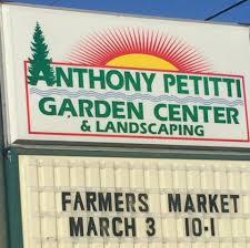 Anthony Petitti Garden Center Home