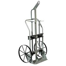 Double Gas Cylinder Hand Truck W/Hoist Ring, 20
