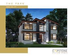 100 Capstone Custom Homes Park