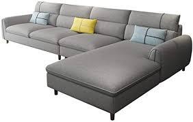 shuchen abnehmbar und waschbar stoff sofa wohnzimmer möbel