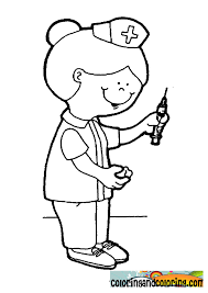 New Nurse Coloring Pages 65 For Your Line Drawings With