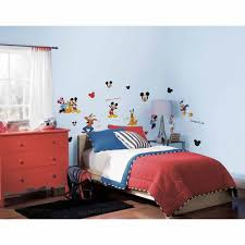 Mickey Mouse Bathroom Wall Decor by Roommates Mickey And Friends Peel And Stick Wall Decals Rmk1507scs