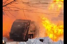 Watch This Garbage Truck Explode Police Id Father Son Burned In Food Truck Explosion Update Douglas Gas Ruled Accidental See It Garbage Explodes Giant Fireball Along New Jersey At Least 2 People Dead 70 Hurt After Truck Explosion On An Italian Two Men In Critical Cdition After Being Severely Burned Tanker Russian Gas Hd Youtube Witness Dcribes Tanker Trucks 90degree Turn Fiery Crash Macgyver Mail Highspeed Mythbusters Owners Caught Food Die From Injuries Eater Italy Kills Two Injures Dozens 3 Dead 67 Injured After Highway