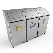 poubelle de bureau tri selectif poubelles pour le bureau faites le tri des déchets poubelledirect