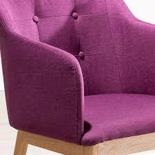 esszimmerstuhl polster holz lila