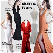 black tie dress codes icaserafica