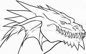 Large Size Of Coloring Pagescaptivating Cool Dragons To Draw By Photodesk Pages Amusing