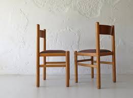 schwedische esszimmerstühle aus buche 1950er 2er set