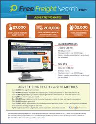 Advertisers | Free Freight Search | Advertising Reach & Site Metrics 91 Free Load Boards For Truckers Our Gift To You Dr Dispatch Software Easy Use Trucking And Brokerage Landstar Board Search Available Loads Intermodal Transportation Industry In The United States Wikipedia Ldboards Color Coded Manager For Trucks The Five Best Every Trucker Cool Rustic Truck Musthave Supplies Driver Ez Invoice Factoring Nextload A Brokers Shippers