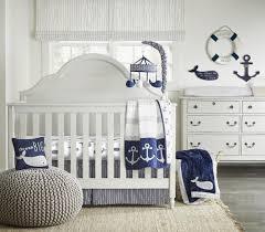 Wendy Bellissimo Landon Navy White Grey 4 Piece Crib Bedding Set